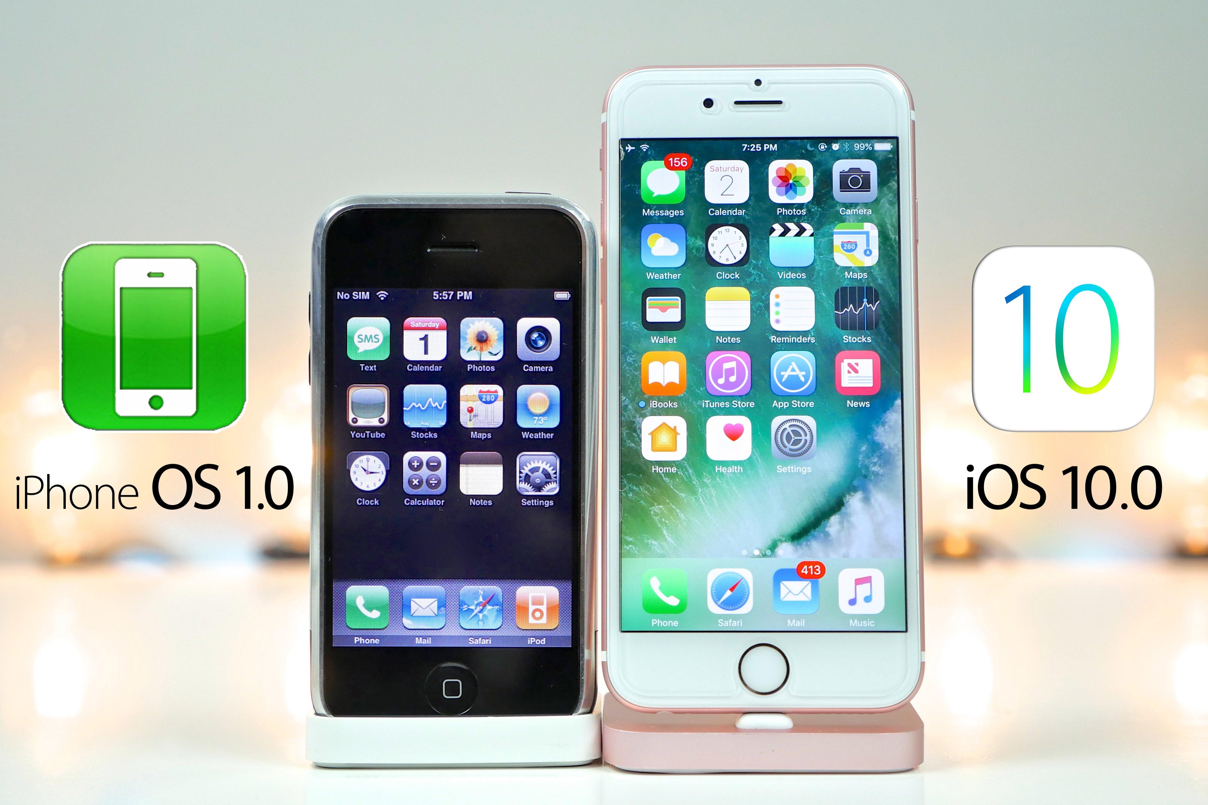 10 ani de iPhone