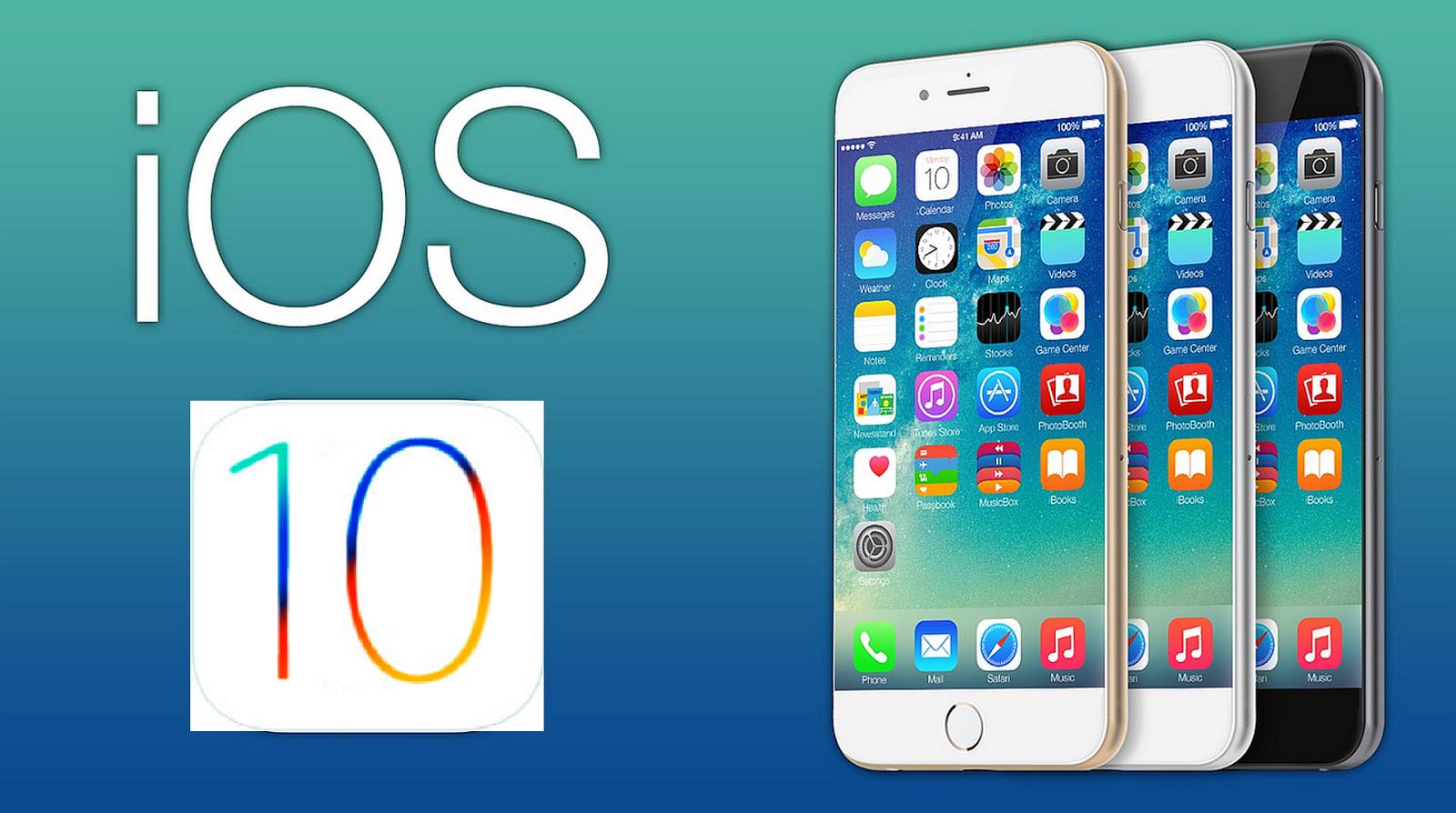 iOS 10 - probleme și soluții