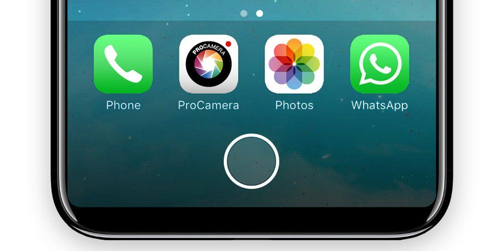 Senzorul de recunoaștere facială de pe iPhone 8, butonul Home și alte zvonuri