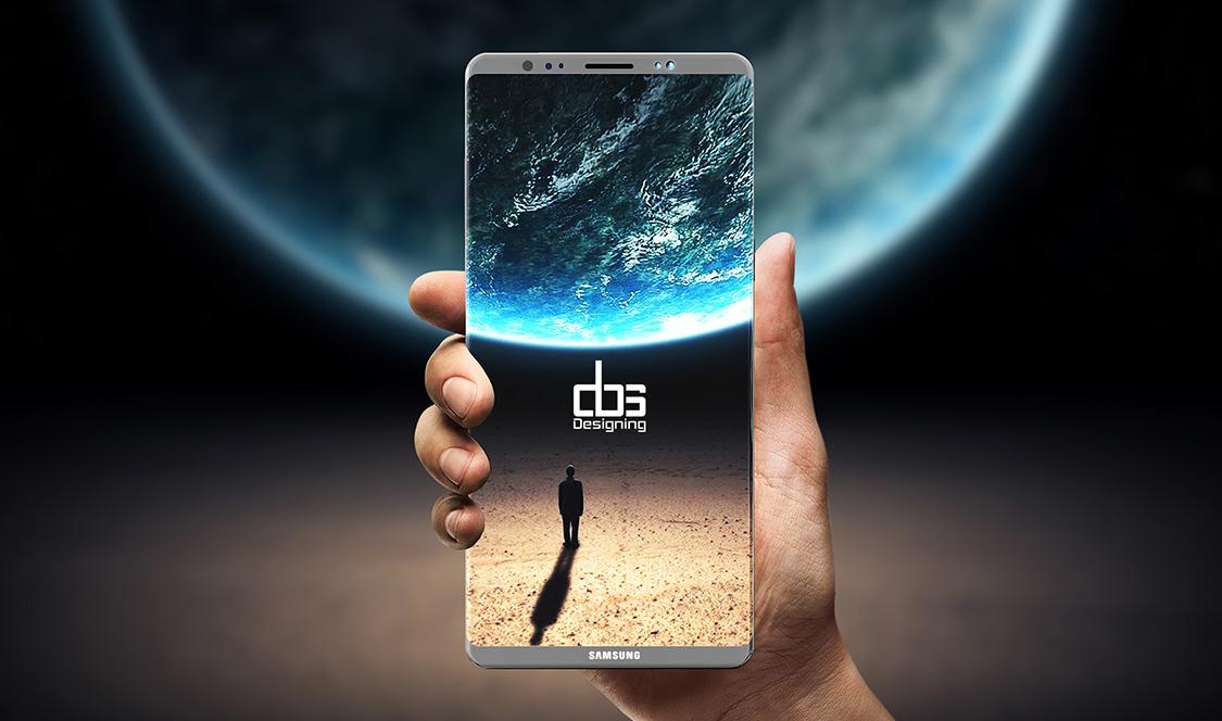 Ecran imens și diagonală de 6.4 inch - Samsung Galaxy Note 8