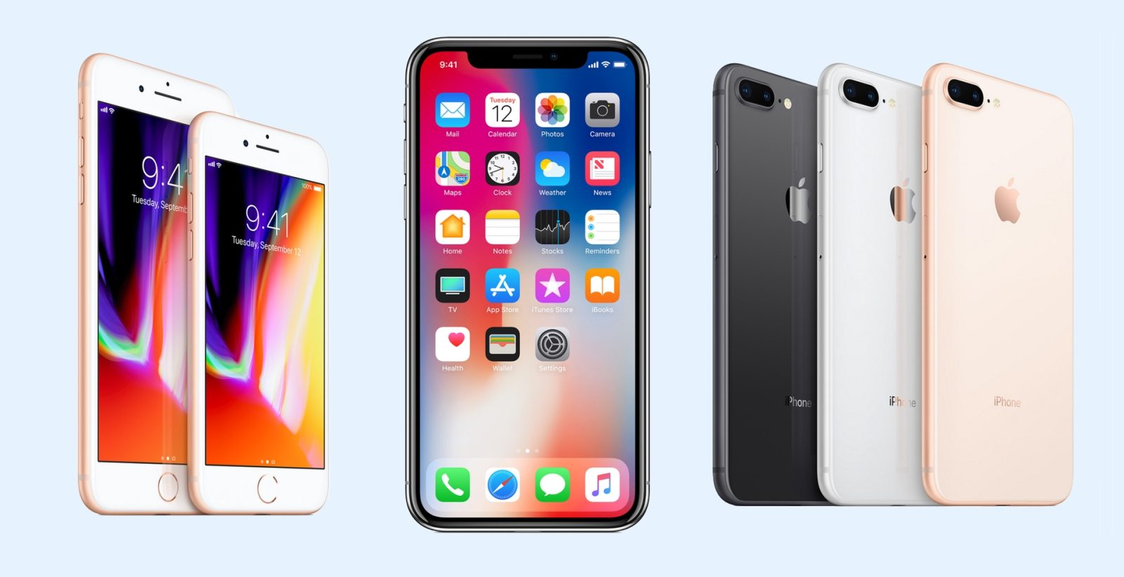 iPhone 8 și iPhone 8 Plus – eclipsate de iPhone X